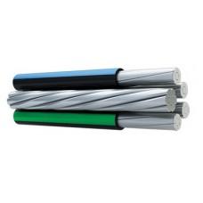 Самонесущий изолированный провод СИП-1 2х16+1х25