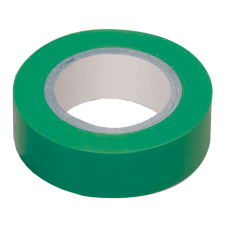 Изолента 0,13х15 мм зеленая 10 метров