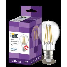 Лампа LED A60 шар прозр. 11Вт 230В 6500К E27 серия 360°