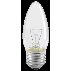 Лампа накаливания C35 свеча прозр. 40Вт E27