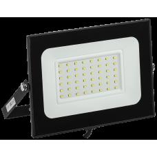 Прожектор СДО 06-50 светодиодный черный IP65 6500 K