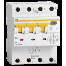 АВДТ 34 C20 30мА - Автоматический Выключатель Дифф. тока