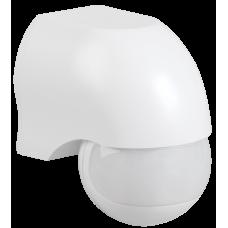 Датчик движения ДД 010 белый, макс. нагрузка 1100Вт, угол обзора 180град., дальность 10м, IP44,