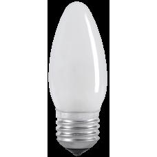 Лампа накаливания C35 свеча матов. 40Вт E27