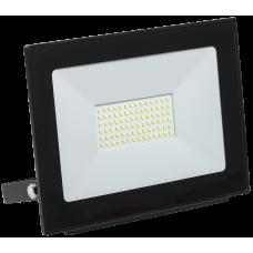 Прожектор СДО 06-70 светодиодный черный IP65 6500 K