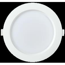 Светильник LED ДВО 1704 белый круг 24Вт 6500K IP40