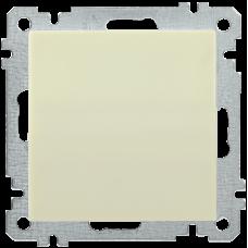 ВС10-1-0-Б Выключатель 1 клав. 10А BOLERO кремовый