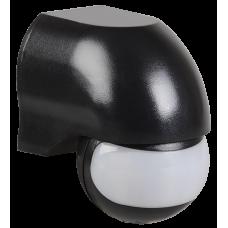Датчик движения ДД 010 черный, макс. нагрузка 1100Вт, угол обзора 180град., дальность 10м, IP44,