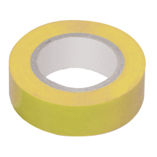 Изолента 0,13х15 мм желтая 20 метров