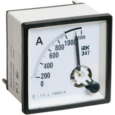 Амперметр Э47 100/5А кл. точн. 1,5 96х96мм