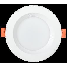 Светильник LED ДВО 1801 PRO белый круг 10Вт 3000K IP40
