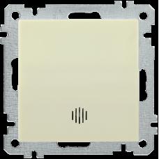 ВС10-1-1-Б Выключатель 1 клав. инд. 10А BOLERO кремовый