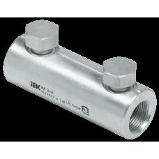 Алюминиевая механическая гильза со срывными болтами АМГ 50-95 до 1 кВ