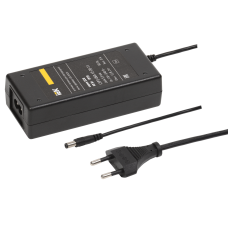 Драйвер LED ИПСН 60Вт 12 В сетевая вилка-блок -JacK 5,5 мм IP20 -eco