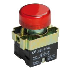 Индикатор LAY5-BU64 красного цвета d22мм