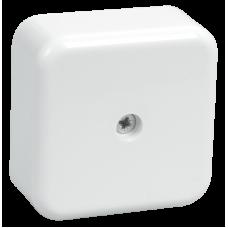 Коробка КМ41206-01 распаячная для о/п 50х50х20 мм белая (4 клеммы 3мм2)