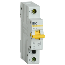 Выключатель-разъединитель трехпозиционный ВРТ-63 1P 50А
