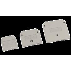 Заглушка для ЗНИ-16мм2 (JXB100A) серый