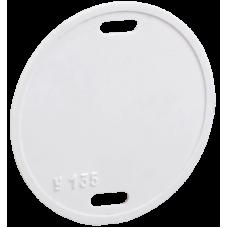 Бирка кабельная У-135 (круг 55 мм)