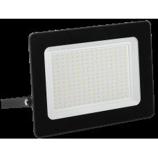 Прожектор СДО 06-200 светодиодный черный IP65 6500 K