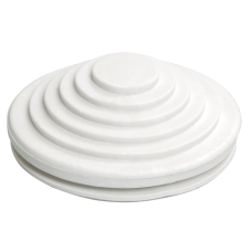 Сальник d=20мм (Dотв.бокса 22мм) белый
