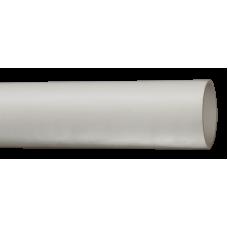 Труба гладкая жесткая ПВХ d50 серая (15м),3м
