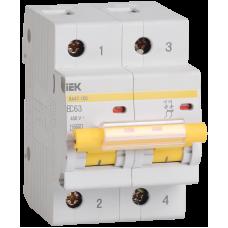 Автоматический выключатель  ВА 47-100 2Р 10А 10 кА х-ка С