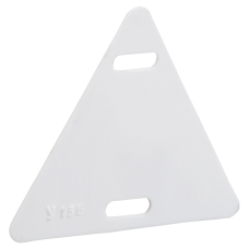 Бирка кабельная У-136 (треугольник 55х55х55 мм)