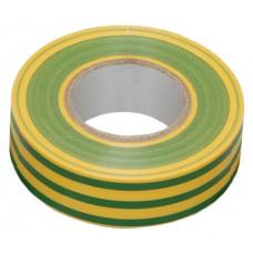 Изолента 0,13х15 мм желто-зеленая 20 метров