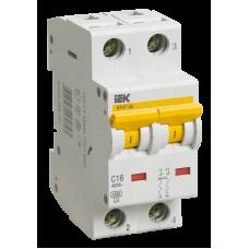 Автоматический выключатель  ВА 47-60 2Р 10А 6 кА х-ка С