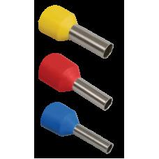 Наконечник-гильза Е1012 1мм2 (темно-красный, 20шт)