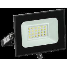 Прожектор СДО 06-20 светодиодный черный IP65 4000 K