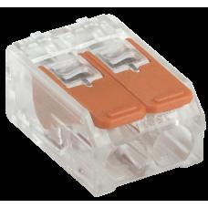 Строительно-монтажная клемма СМК 223-412 (4шт/упак)
