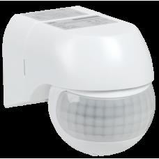 Датчик движения ДД 015 белый 800Вт 180гр 12м IP44