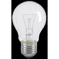 Лампа накаливания A55 шар прозр. 75Вт E27