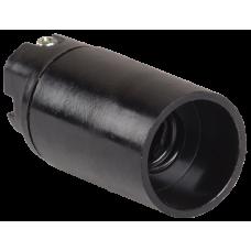 Пкб14-04-К01 Патрон подвесной карболитовый, Е14, черный (50 шт), стикер на изделии,