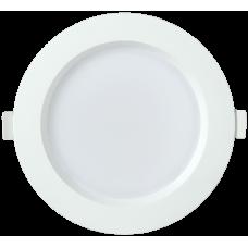 Светильник LED ДВО 1702 белый круг 12Вт 3000K IP40