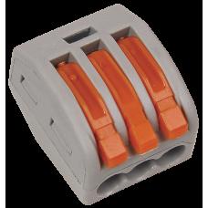Строительно-монтажная клемма СМК 222-413 (4 шт/упак)