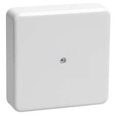 Коробка КМ41216-01 распаячная для о/п 75х75х28 белая (6 клемм 6мм2)