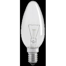 Лампа накаливания C35 свеча прозр. 40Вт E14