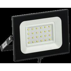 Прожектор СДО 06-30 светодиодный черный IP65 6500 K