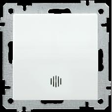 ВС10-1-1-Б Выключатель 1 клав. инд. 10А BOLERO белый