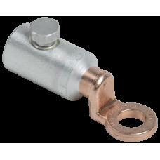 Алюминиевый механический наконечник со срывными болтами АМН 25-95 до 35 кВ