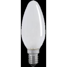 Лампа накаливания C35 свеча матов. 40Вт E14