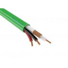 КВК-В-2нг(А)-LSLTx 2х0,50 - кабель низкотоксичный для видеонаблюдения