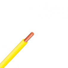 Провод ПВ-1 0,5 желтый